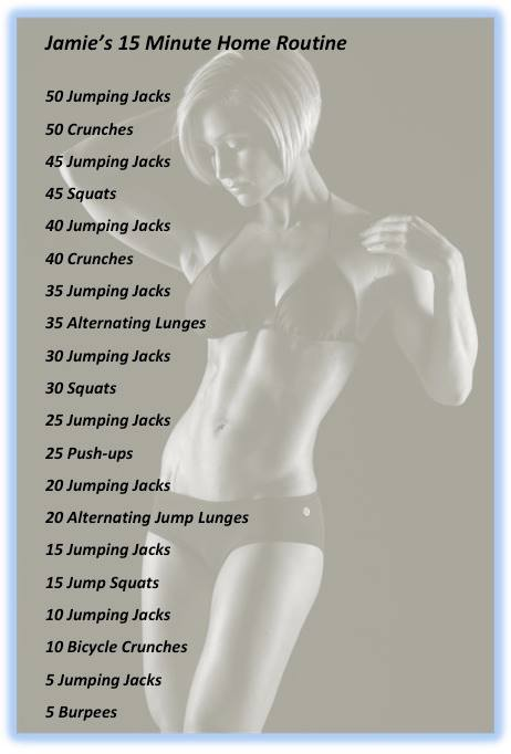 Quick 15 min workout!!